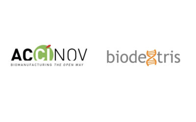 Accinov and Biodextris team up to provide a unique contract development and manufacturing service package.
